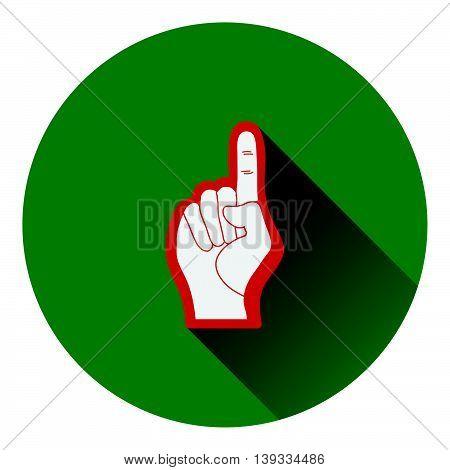American Football Foam Finger Icon