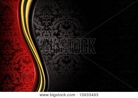 Red and black Luxury Background