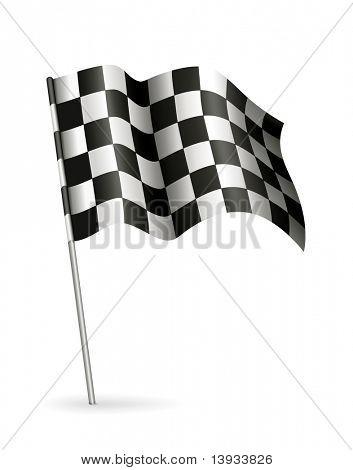 Racing Flag, vector
