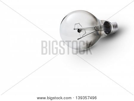 No Idea Symbol -A blown electric incandescent lamp