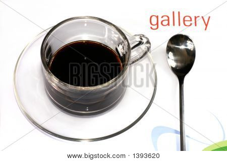 Coffee Cup With Spoon