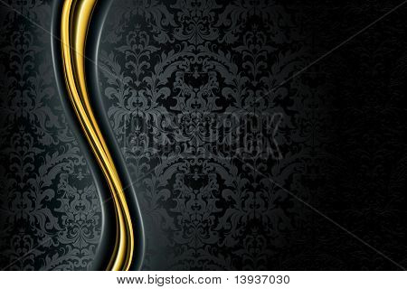Black Luxury Background, bitmap copy