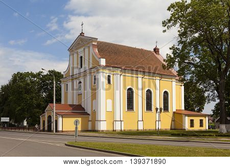 Exaltation of the Cross (Farny) church. Lida. Belarus.