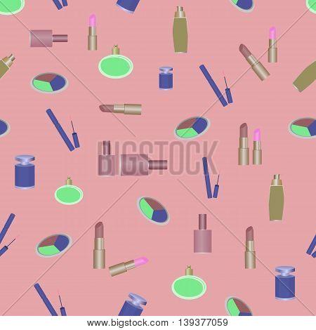 cosmetics perfumery pattern abstraction beauty makeup lipstick