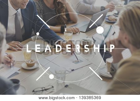 Leadership Leader Chief Management Contribution Concept