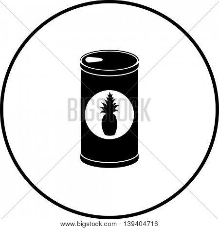 pineapple juice can symbol