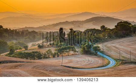 Tuscany Hills Panorama View