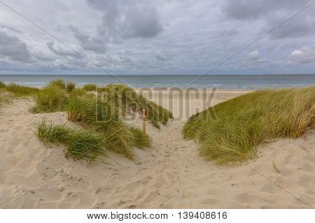 Beach Dune Sea Vista