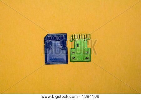 Inside Of Memory Chip1