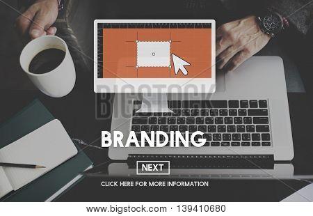 Brand Branding Advertising Commercial Marketing Concept