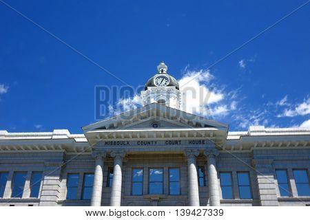 The Missoula County Courthouse has been a beautiful, Montana landmark since 1908.