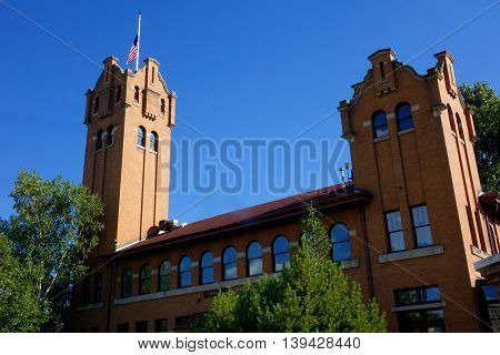 The Old Milwaukee Train Depot has been a landmark in Missoula, Montana since 1910.