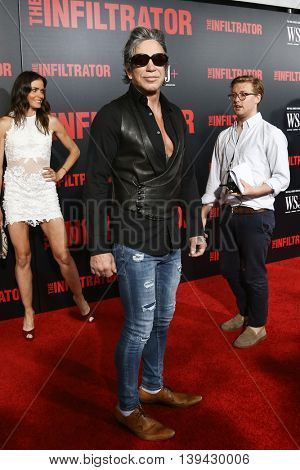 NEW YORK-JULY 11: Actor Mickey Rourke attends 'The Infiltrator' New York premiere at AMC Loews Lincoln Square 13 Theater on July 11, 2016 in New York City.