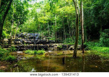namtok Sam Lan National Park.Namtok Sam Lan National Park is a national park in Saraburi Province Thailand. Other names for the park include Khao Sam Lan National Park and Phra Puttachai National Park.