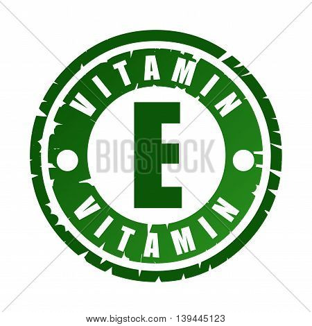 Rubber Stamp With Vitamin E