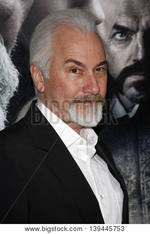 Rick Baker at the Los Angeles premiere of 'The Wolfman' held at the ArcLight Theater in Hollywood, USA on February 9, 2010.