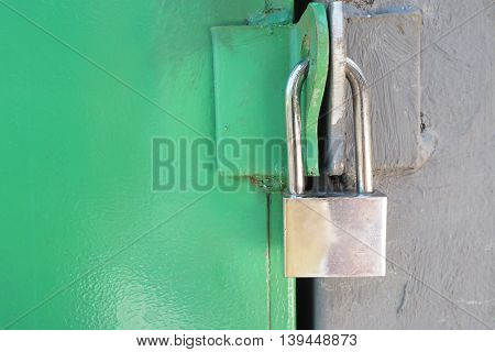 master key for protect important room with green wall.