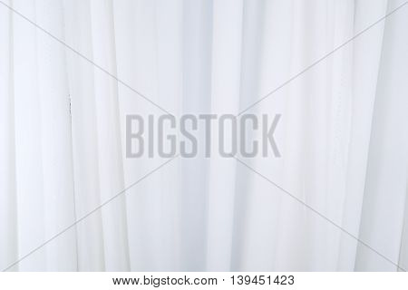 white drapery background texture, White curtains background.