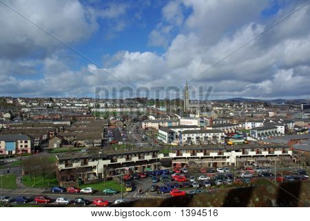 The Bogside From The City Walls