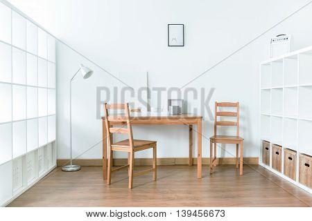 Quiet Space Favorable For Focus