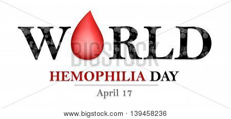 World Hemophilia Day card for you design