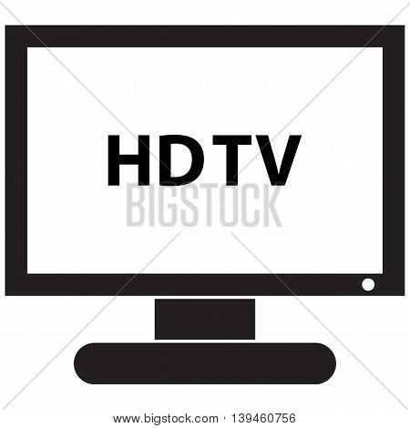 HD TV Icon television set television industry