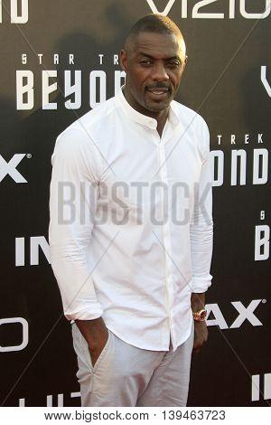 LOS ANGELES - JUL 20:  Idris Elba at the