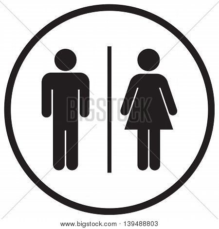 Bathroom Sign Icon computer icon public restroom people symbol