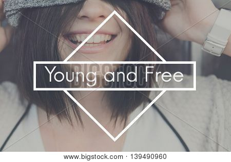 Young Free Generation Lifestyle Adolescence Concept
