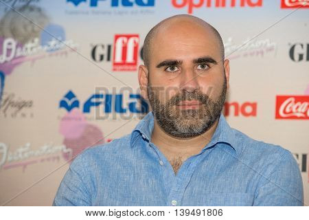 Actor Francesco Ghiaccio