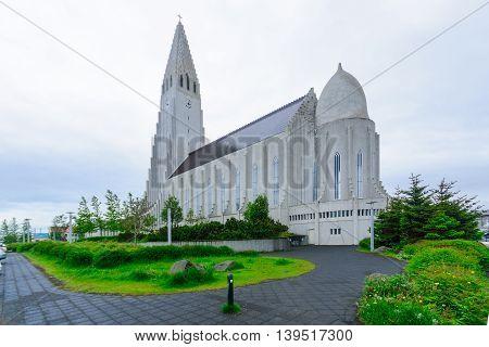Hallgrimskirkja Church, In Reykjavik