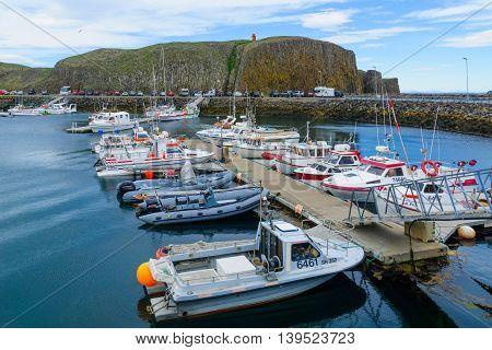 The Fishing Port, In Stykkisholmur
