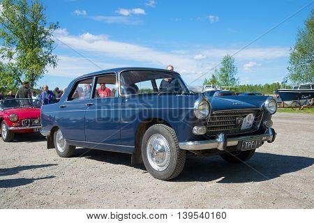 KERIMYAKI, FINLAND - JUNE 06, 2015: Car