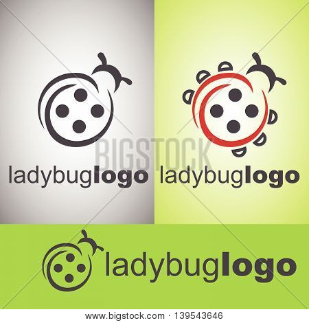 ladybug logo concept designed in a simple way so it can be use for multiple proposes like logo ,marks ,symbols or icons.