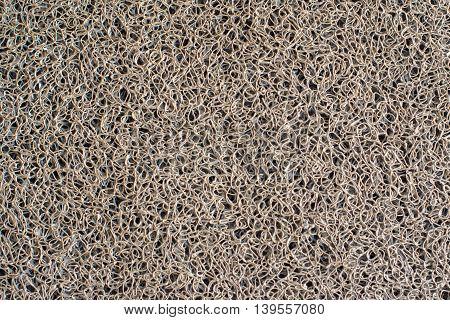 Closed Up Of Door Mat Texture Background