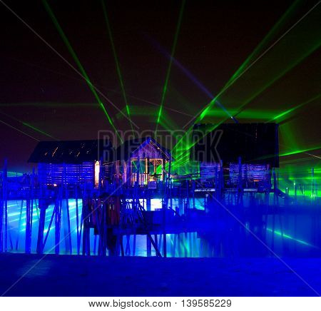 Laser Show, Songs Of The Sea.