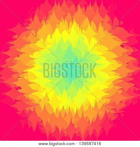 Abstract gradation Design shapes background, vector illustration EPS