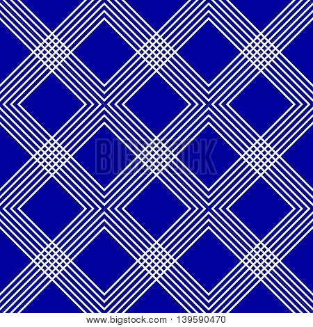 Minimal Geometric Pattern With Intersecting Lines Forming Interlaced X, Cross Shapes. Colorful X, Cr