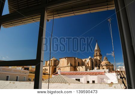 Rooftops of Jerez De La Frontera, Andalusia, Spain