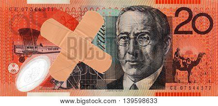 Australian Twenty Dollar Note
