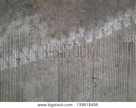 Concrete floors are welded car wheels background