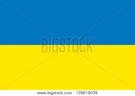 Vector Ukraine flag