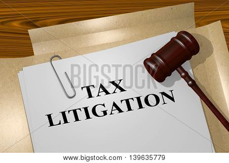 Tax Litigation Concept