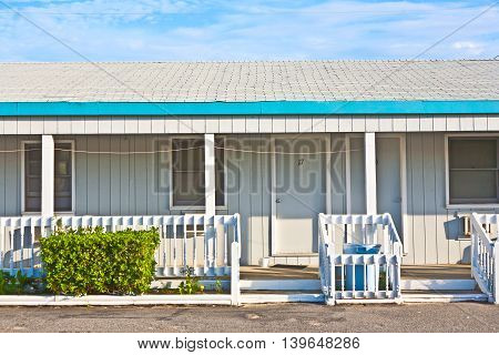 generic american motel in the outer banks USA
