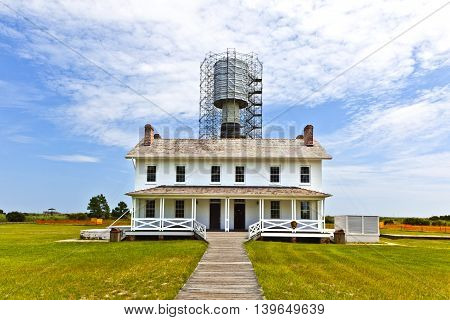 Lighthouse In The Outer Banks