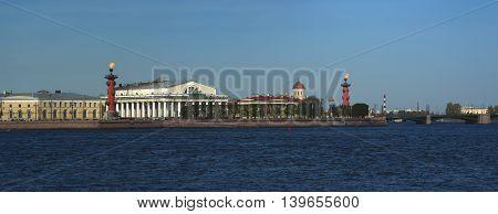 St. Petersburg. Panorama Spit of Vasilyevsky Island