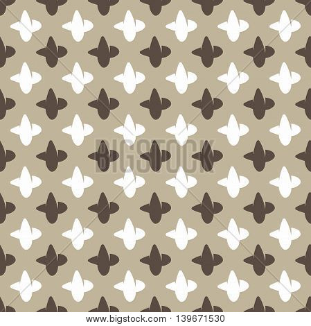 Seamless background. Modern stylish texture. Repeating geometric shapes. Contemporary graphic design