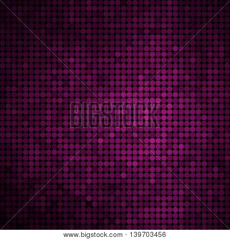 abstract vector colored round dots background - pur