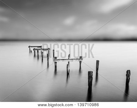 A Long Exposure on Lough Neagh Northern Ireland