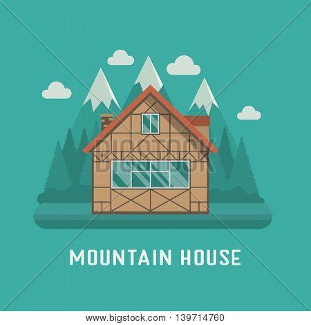 Mountain Chalet House